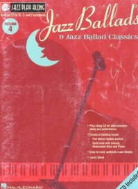 Jazz Play Along - Vol. 04 - Jazz Ballads